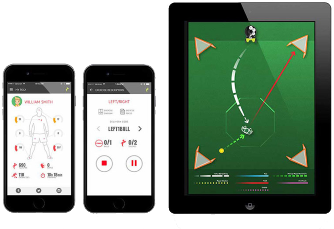 TOCA Touch Trainer App